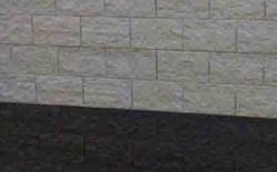 betonplaat voor schutting, afm. 184x36 cm, dubbelzijdig elbe motief, antraciet