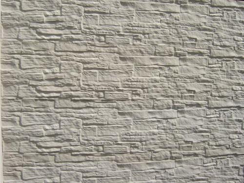 betonplaat voor schutting, afm. 184x36 cm, dubbelzijdig nostalgie motief, wit-1