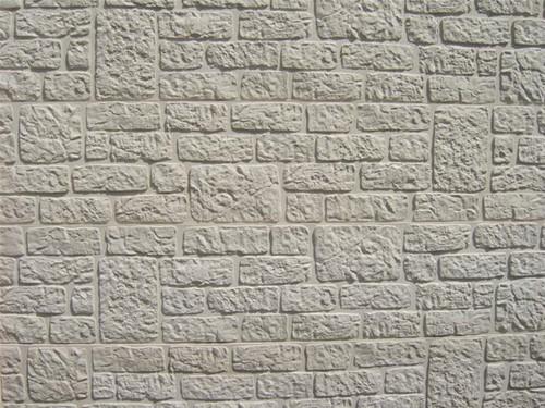 betonplaat voor schutting, afm. 184x36 cm, dubbelzijdig romeins motief, antraciet