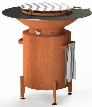 Forno cooking, houtbarbecue BFC2, diam. 100cm, hoogte 100cm