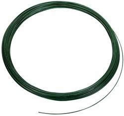 Binddraad, dikte 2,0 mm, groen geplastificeerd 100 m