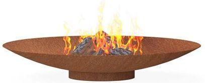 Burni verwarming Burni vuurschaal, diam. 120 cm, hoogte 21 cm, 3-4 mm cortenstaal