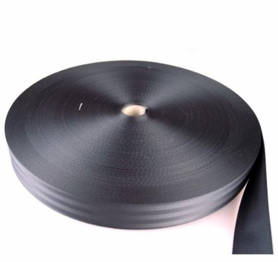 Kühlkamp Boomband, autogordel, nylon, breedte 5 cm, 25 meter per rol