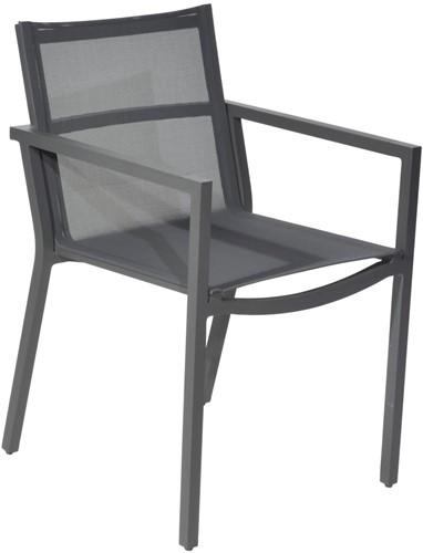 Borek Coria stoel - 52,5 x 60 x 85,5 cm - antraciet