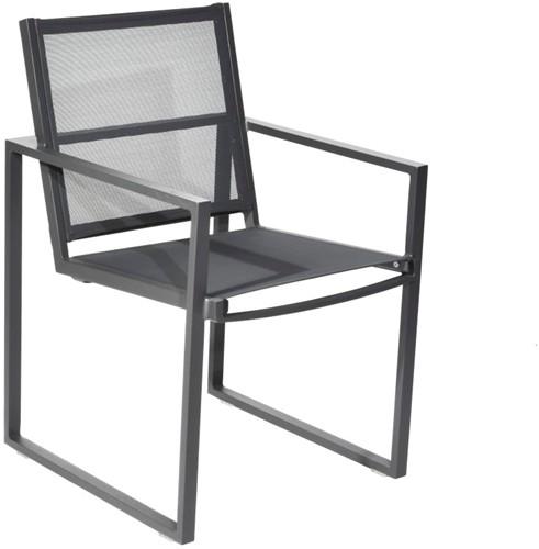 Borek Jaca stoel - 56 x 64 x 86,5 cm - antraciet