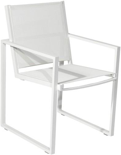 Borek Jaca stoel - 56 x 64 x 86,5 cm - wit