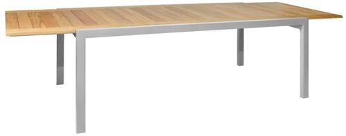 Borek ELX verlengbare tafel - staal - wit-2