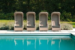 Borek Sardgena lounge stoel 73 x 65 x 151 cm