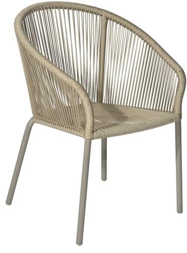 Borek Colette dining stoel - zand