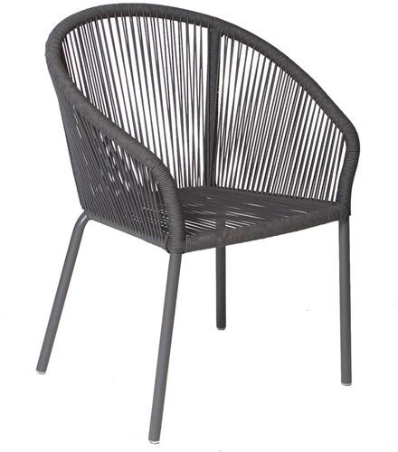Borek Colette dining stoel - antraciet