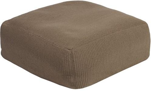 Borek Crochette pouffe - zand