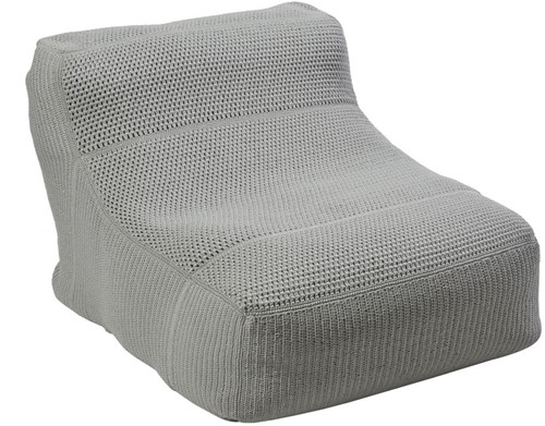 Borek Leno bean bag - iron grey