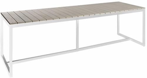 Borek Venice tafel  240 x 90 x 75 cm - wit