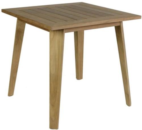 Borek Bellinzona tafel  80 x 80 x 75 - teak