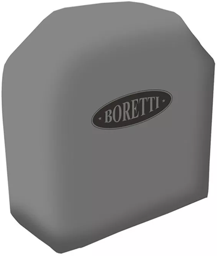 Boretti BBQ beschermhoes voor barbecue Carbone