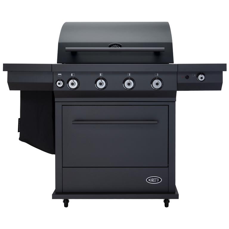 Boretti barbecues Boretti gasbarbecue Maggiore, antraciet