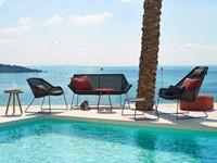 Cane-line Breeze highback stoel - black-2