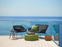 Cane-line Breeze lounge stoel - black-2