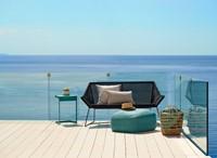 Cane-line Breeze lounge bank - black-2