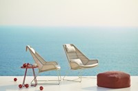 Cane-line Breeze highback stoel - white-grey-2