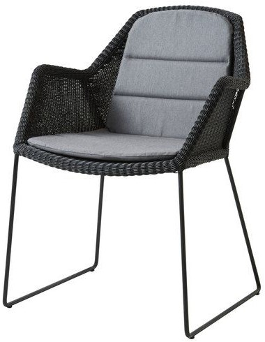 Cane-line Breeze dining stoel, stapelbaar - black