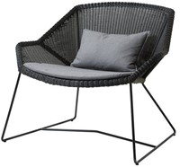 Cane-line Breeze lounge stoel - black
