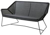 Cane-line Breeze lounge bank - black