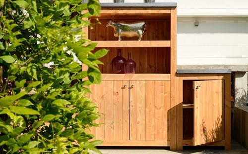 Hillhout impregneer ter bescherming van hardstenen blad tuinkast/buitenkeuken-2