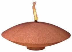 Burni drijfschaal FOC1, diam. 60 cm, hoogte 14 cm, 3 mm cortenstaal