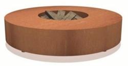 Burni vuurtafel, diam.125 cm, hoogte 28 cm, 3 mm cortenstaal