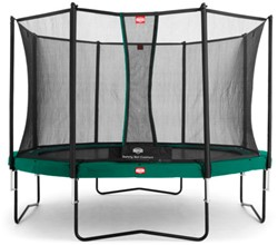 BERG Champion Tattoo trampoline, veiligheidsnet Comfort, diam. 430 cm.