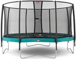 BERG Champion trampoline, veiligheidsnet Deluxe, diam. 380 cm.