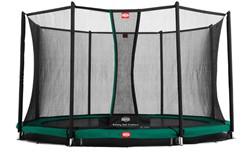 BERG inground trampoline Champion, veiligheidsnet Comfort, diam. 330 cm.