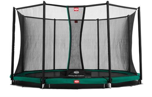 BERG inground trampoline Champion, veiligheidsnet Comfort, diam. 380 cm.