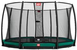 BERG inground trampoline Champion, veiligheidsnet Deluxe, diam. 270 cm