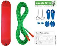 Jungle Gym Sling Swing kit, bandschommel, geel kunststof-2