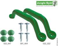 Jungle Gym handgreep, groen (per paar)-2