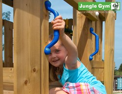 Jungle Gym handgreep, blauw (per paar)