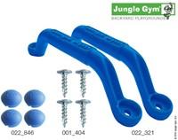 Jungle Gym handgreep, blauw (per paar)-2