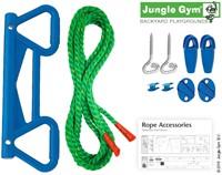 Jungle Gym Monkey bar kit, blauw kunststof-3