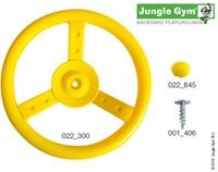 Jungle Gym steering wheel, geel-2