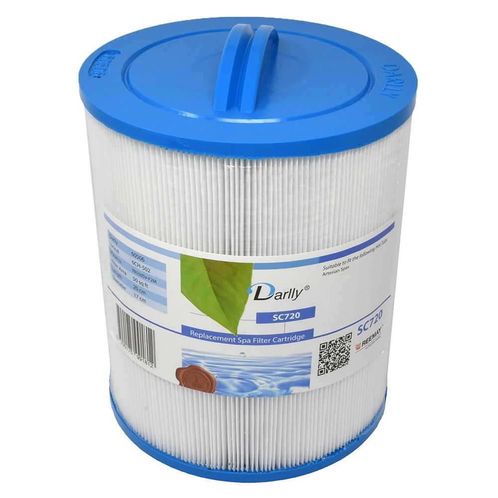 Darlly filters Darlly spa filter voor hot tub, type SC720, afm. 50 ft2 (6CH-502)