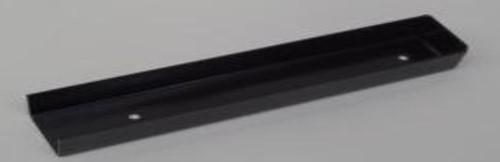 u-profiel voor muuraansluiting hout/betonschutting 10x10 beton antraciet