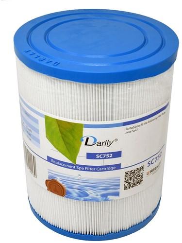 Darlly spa filter voor hot tub, type SC752, afm. 25 ft2