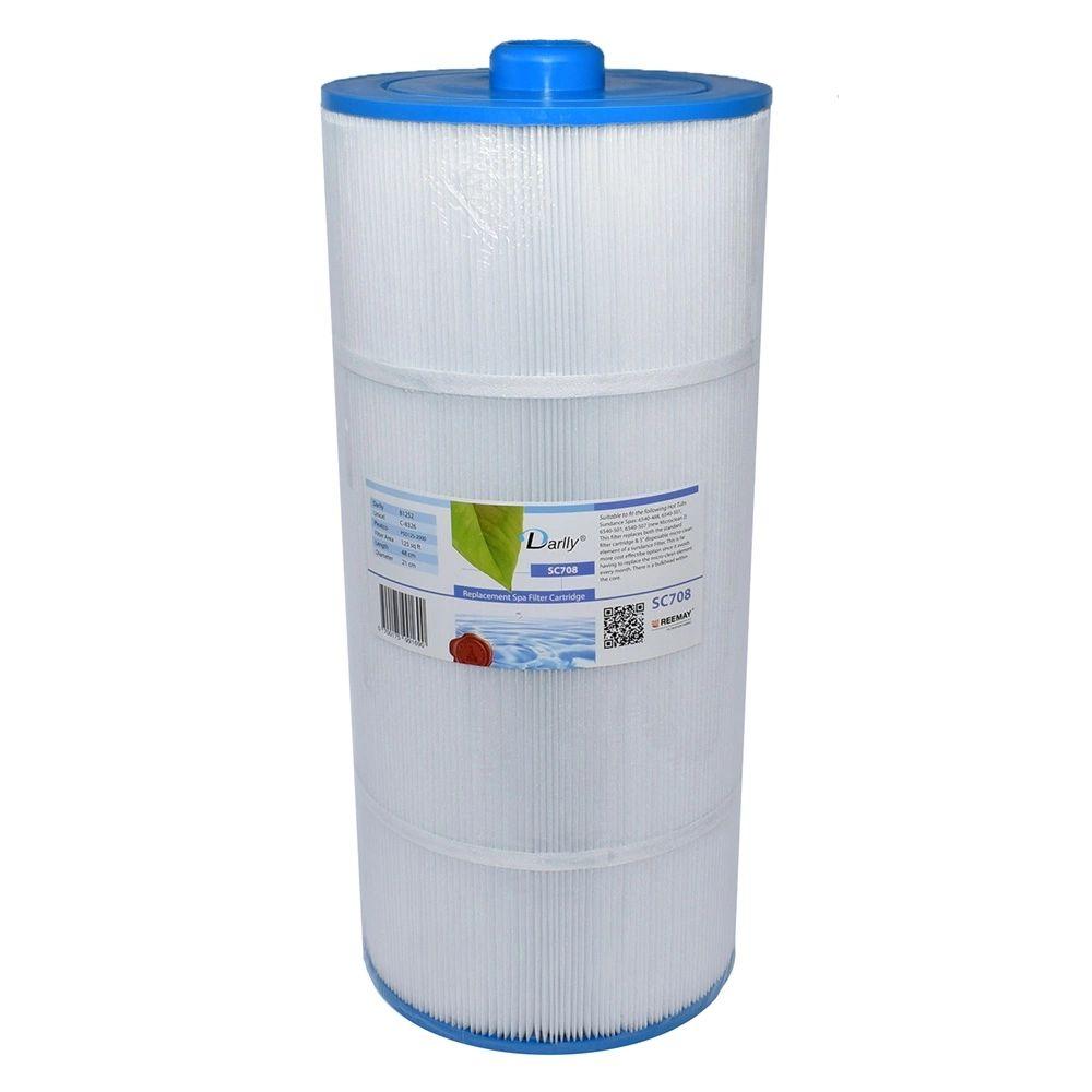 Darlly filters Darlly spa filter voor hot tub, type SC708, afm. 125 ft2 (C-8326)