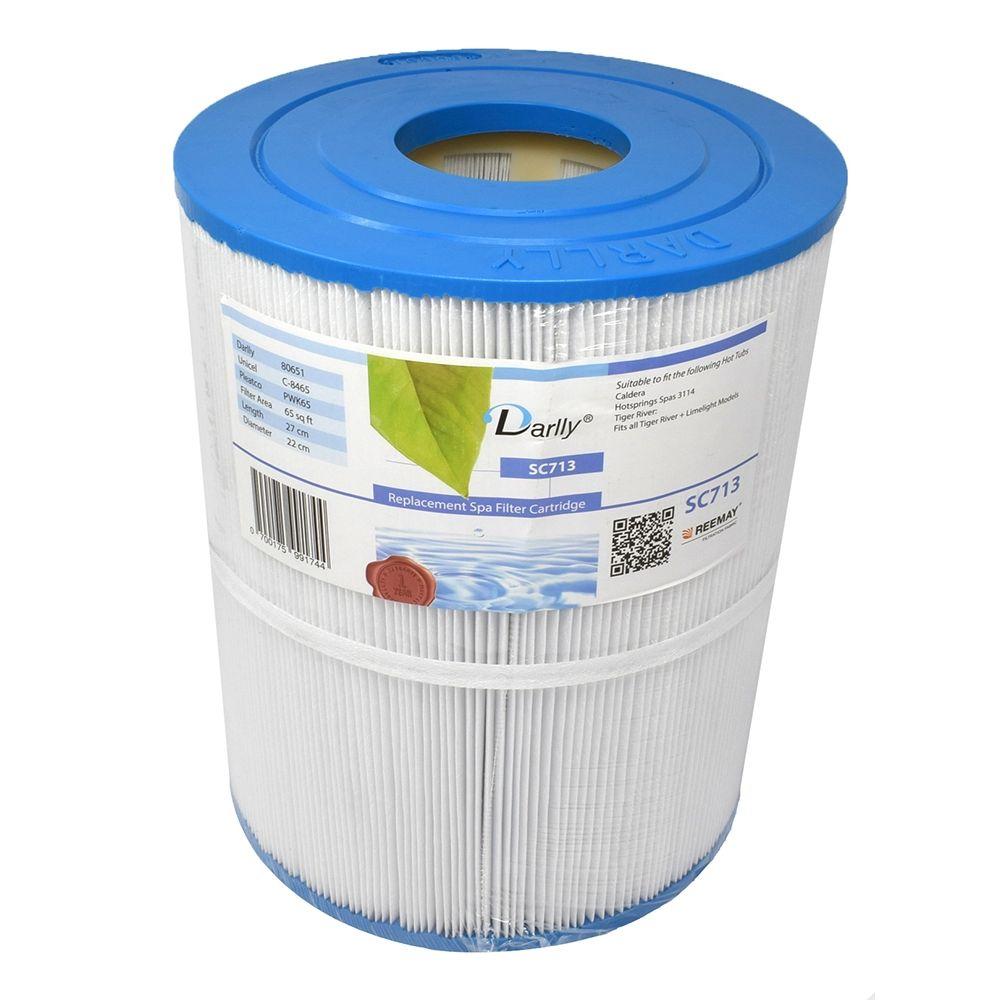 Darlly filters Darlly spa filter voor hot tub, type SC713, afm. 65 ft2 (C-8465)
