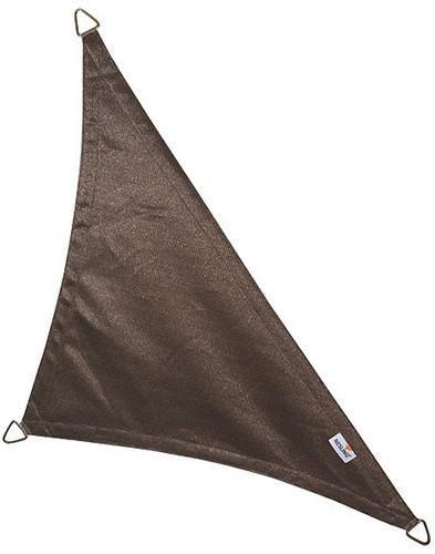 Nesling Coolfit schaduwdoek, driehoek met 90 graden hoek, afmeting 5 x 5 x 7,1 m, antraciet