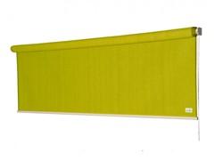 Nesling Coolfit rolgordijn, afm. 1,98 x 2,4 m, lime