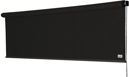 Nesling Coolfit rolgordijn, afm. 0,98 x 2,4 m, zwart