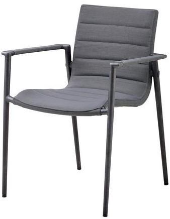 Cane-line Core stoel met armleuningen - grey